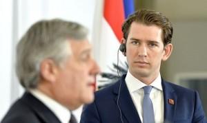 18.06.20 Vienna, Antonio Tajani e Sebastian Kurz
