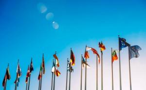 18.07.05 Sondaggio Trend, bandiere UE