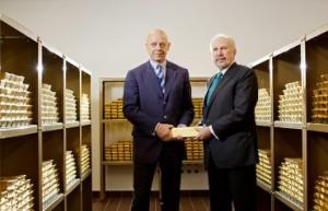 18.09.03 Kurt Pribil e Ewald Novotny, Banca nazionale austriaca