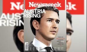 18.10.20 Sebastina Kurz su copertina Newsweek