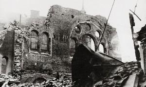 18.11.10 Vienna, sinagoga distrutta mella Kristallnacht