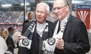 18.05.00 Franz Lackner e Alois Schwarz finale campionato Rb Salzburg - Sturm Graz