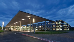18.12.24 Klagenfurt, ingresso ospedale Klinikum