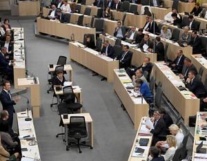 19.01.23 Parlamento Vienna (Nationalrat), sede provvisoria