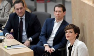 19.02.18 Heinz-Christian Strache, Sebastian Kurz, Pamela Rendi-Wagner