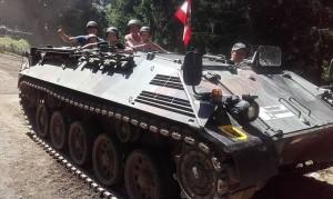 19.02.22 Bunkermuseum Wurzenpass, veicolo trasporto truppa Sauer