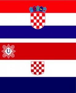 19.03.19 Bandiera Croazia, sotto Ustascia