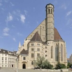 19.04.02 Minoritenkirche, chiesa dei Minoriti, Vienna
