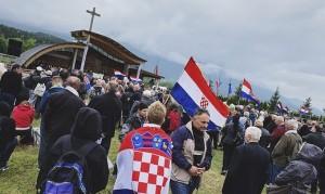 19.08.03 Bleiburg, raduno croati ustascia