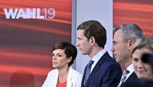 19.09.29 P. Redni-Wagner, Sebastian Kurz, Norbert Hofer