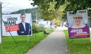 19.10.12 Vorarlberg elezioni; Markus Wallner, Sabine Scheffknecht