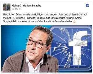 19.10.19 Nuova pag. Facebook di Heinz-Christian Strache