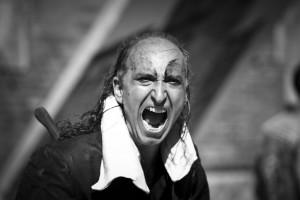 Armando Punzo - Mercuzio non vuole morire (foto Carlo Gattai)