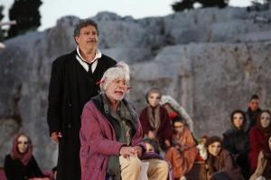 """Michele Di Mauro e Alarico Salaroli in """"Fenicie"""" di Euripide"""