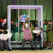"""Una scena di """"Turandot""""allo Sfersterio di Macerata"""