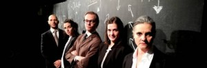 "Gli attori di ""Beyond Fukuyama"" al Filodrammatici"