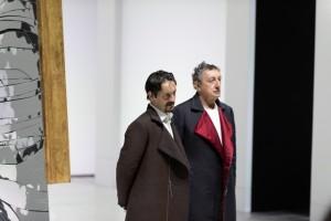 """Marco Foschi e Sandro Lombardi in """"Scene da Faust"""""""