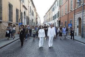 """Una delle scene itineranti del """"Purgatorio"""" prodotto da Ravenna Festival"""