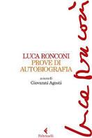 """La copertina dell' """"autobiografia""""di Luca Ronconi"""