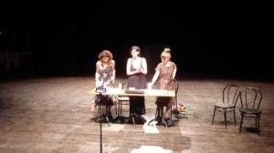 Flavia Armenzoni, Beatrice Baruffini e Alessandra Belledi