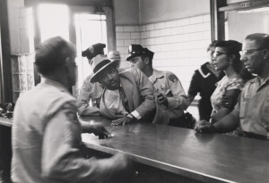 Moore MLK arrested