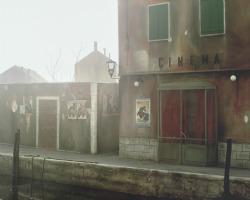 da The Automaton. «È l'unica immagine senza persone della serie su Venezia. In questo cinema mai esistito proiettano Ossessione di Visconti, ma non c'è nessuno che entra. Questa scena mi chiama violentemente dentro, non accetta più che ci metta delle bambole, vuole che sia io a entrare nel mio sogno».