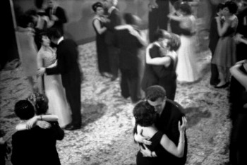 """Toni Nicolini, """"Ballo di capodanno a Mortara"""", 1966. Toni Nicolini"""