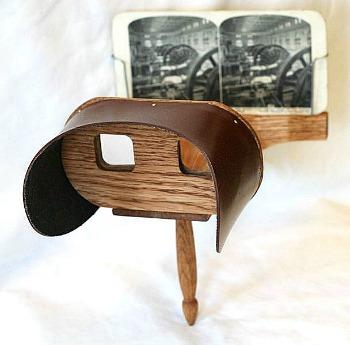 Lo stereoscopio di Oliver Wendell Holmes
