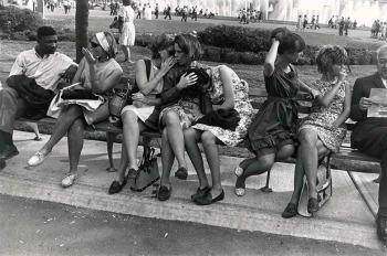 Garry Winogrand, World's Fair, New York City, 1964. The Estate of Garry Winogrand, g.c.