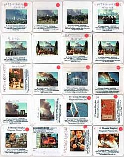 Thomas Hoepker, busta di diapositive, New York 11 settembre 2011, Thomas Hoepker / Magnum Photos