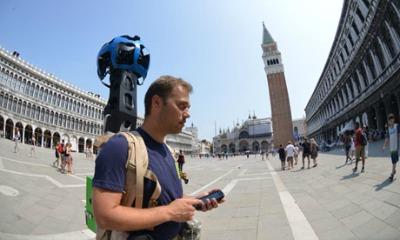 Denis Ferodov mappa piazza San Marco.