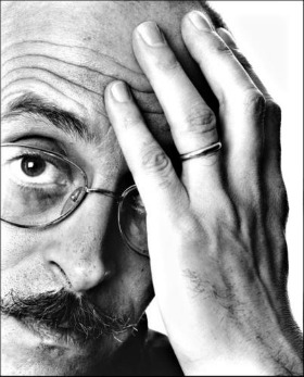 Antonio Tabucchi, Milano, 1985. © Giuseppe Pino/Contrasto