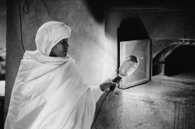 Sebastiana Papa,  Etiopia, Sebeta, Monastero etiopico ortodosso del Getzemani, 1999. Sebastiana Papa / Iccr