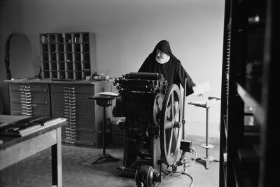 Sebastiana Papa, Pontassieve. Monastero Santa Maria di Rosano delle Benedettine, 1967.
