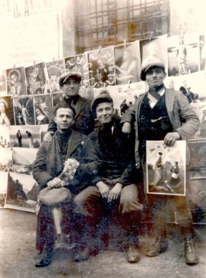 Anonimo, Giuseppe Sordo e altri ambulanti tesini in Lombardia, 1929