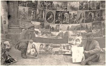 Ambulanti tesini a Orléans, 1920 circa