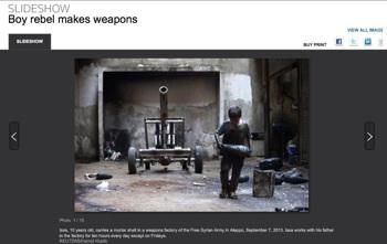 Screenshot dal sito Reuters