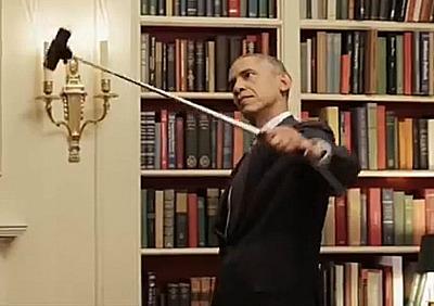 Obamaselfiestick