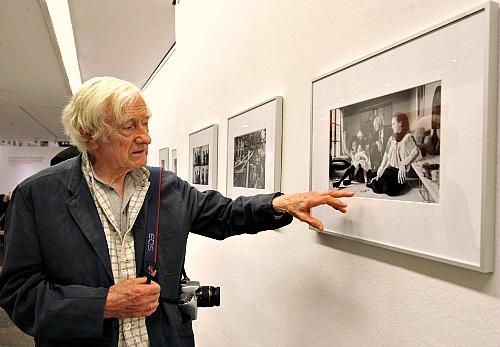 Marc, il coraggio del fotografo timido