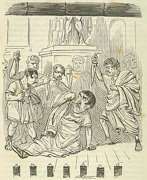 Comic_History_of_Rome_p_308_The_End_of_Julius_Caesar
