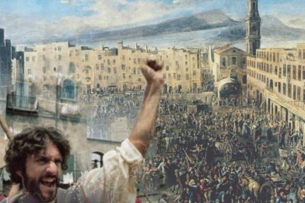 La-rivoluzione-di-Masaniello-Piazza-Mercato-Chiesa-del-Carmine-600x451