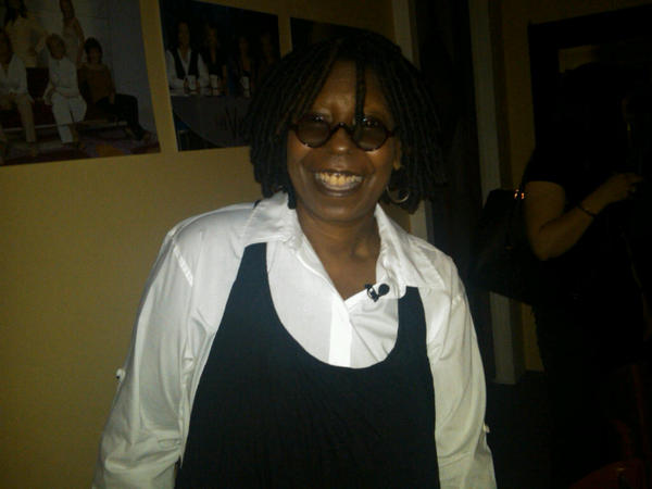 Whoopi Goldberg nel backstage di The View