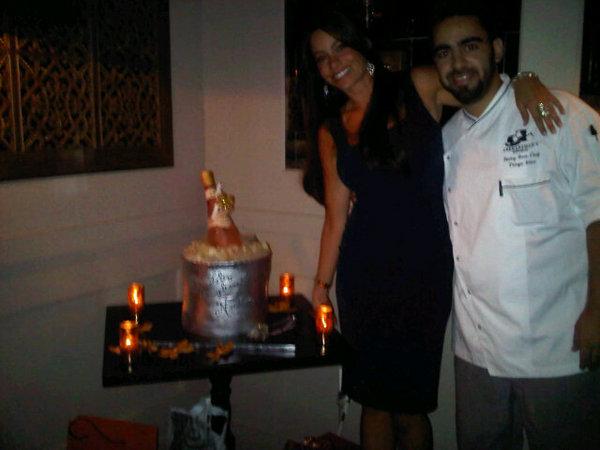 Tiago ha fatto la torta più stupefacente che io abbia mai visto da Abe and Arthurs a Ny
