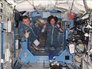 Sono arrivato alla Stazione Spaziale!