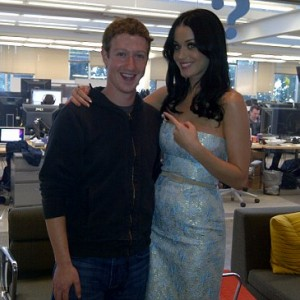 Mark Zuckemberg e Katy Perry