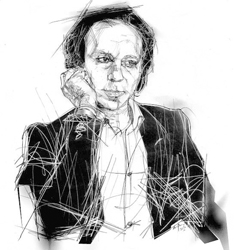 Gildo Cristian nel disegno di Francesco Ardizzone