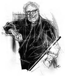Gilberto Marselli ritratto da Francesco Ardizzone
