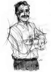 Paolo Cappabianca ritratto da Francesco Ardizzone