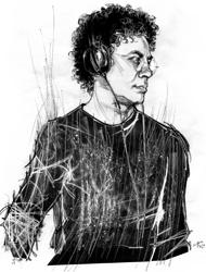 Francesco Patierno nel ritratto di Francesco Ardizzone