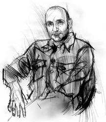 Bruno Brindisi nel ritratto di Francesco Ardizzone